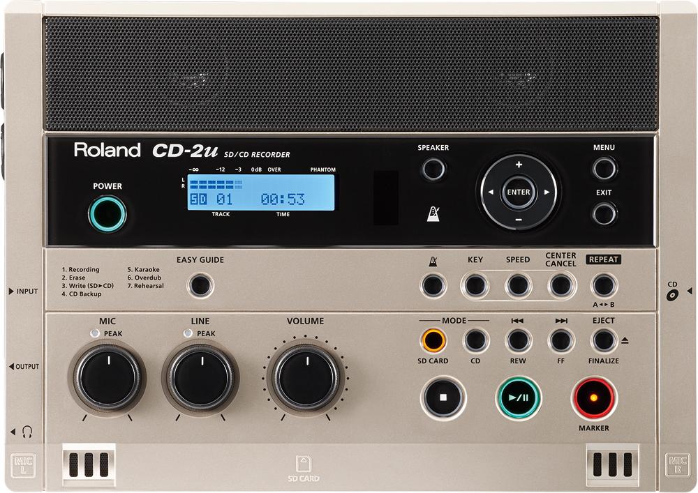 ローランド SD/CD Recorder ROLAND CD-2U <お取り寄せ品です>
