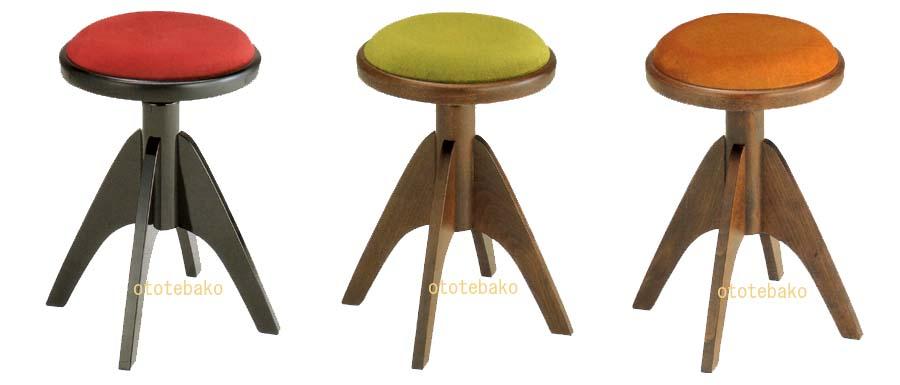 イタリア製 輸入インテリアピアノ椅子 IT-2