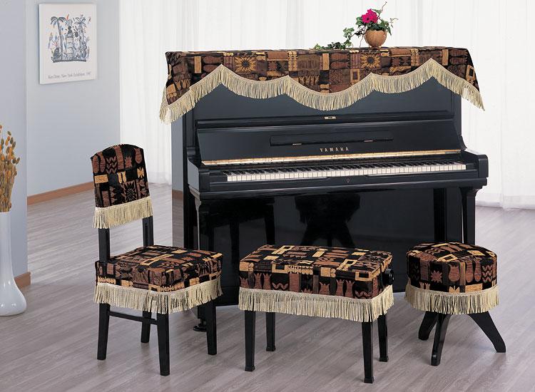 G100-CK ピアノ椅子カバー インポートタイプ G高低椅子カバー 背もたれ椅子 丸椅子