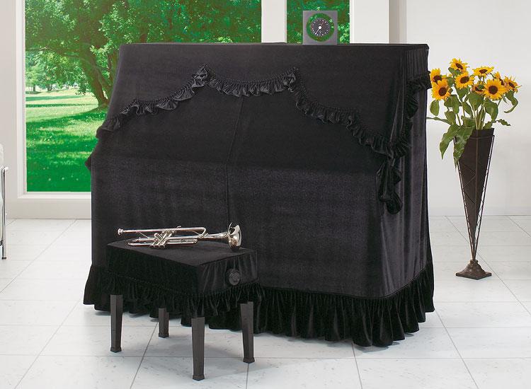 ●ピアノオールカバー ビロードタイプ ブラック