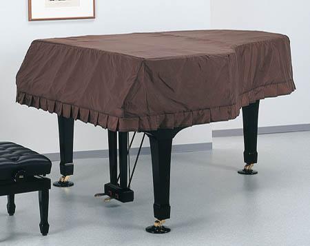 アップライトピアノ フルカバー(裏地あり:ベージュ)ブラウン受注タイプサイズによって価格変更有り