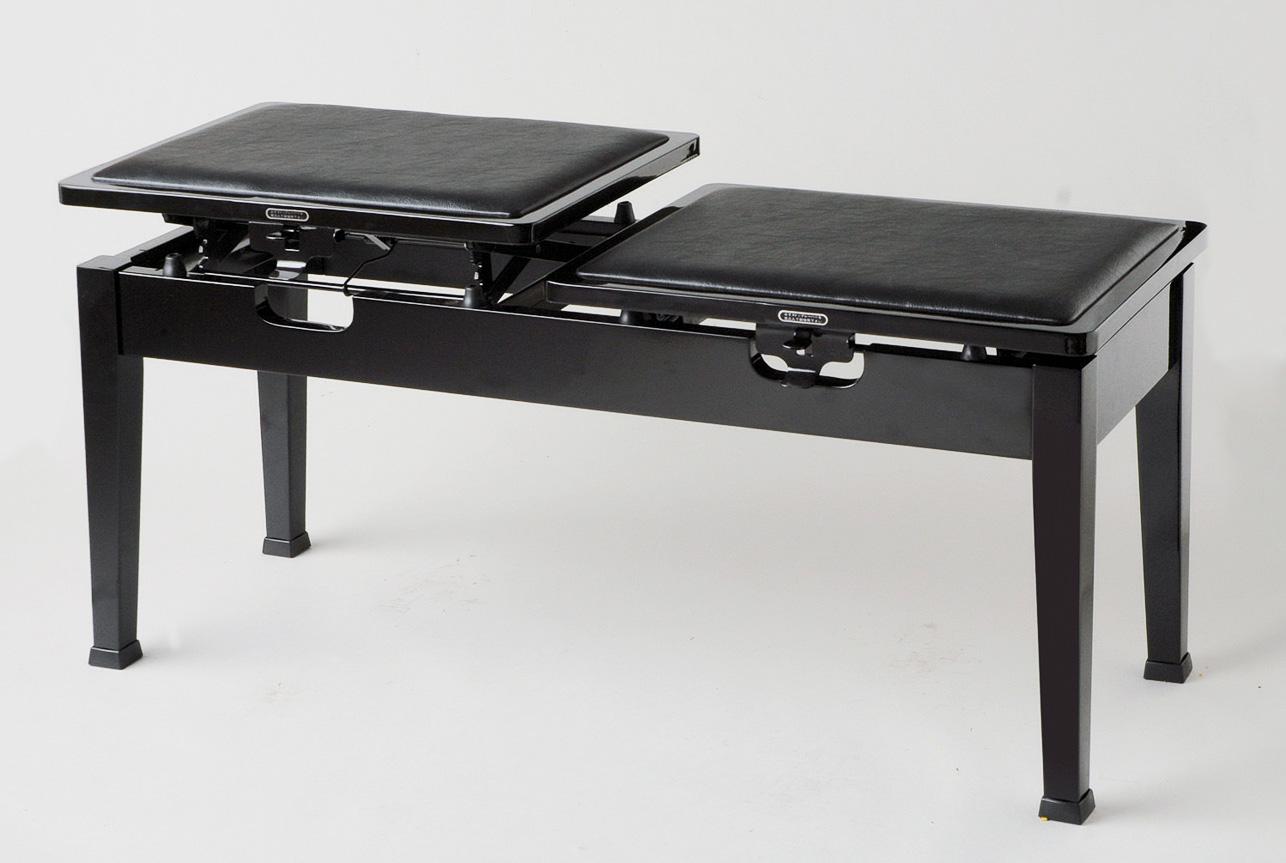 【送料無料】高低連弾椅子 連弾用ピアノ椅子 Mo3[2131 4031]イトーシンミュージック
