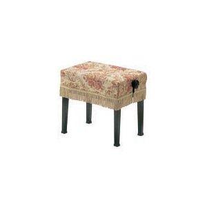 送料無料!ピアノ椅子カバー ロザリオ 新高低椅子カバー 受注生産品 画像右 55.5×35.5cm 甲南