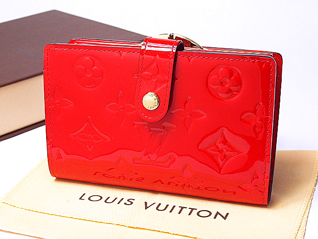 Otowa shop ♦ Louis Vuitton Vernis wallet, French purse M90182 two fold the unused money pouch purse