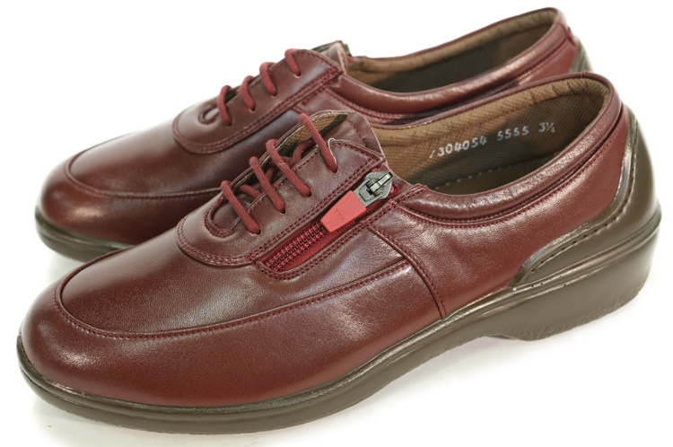 ボンステップ レディース 靴Bon Step/ボンステップBS-5555 レディース レースアップシューズ(サイドファスナー付)婦人(レディス)靴/大塚製靴,オーツカ,otsuka/ボンステップ(Bon Step)/コンフォートカジュアルシューズ/レースアップ/防水,撥水