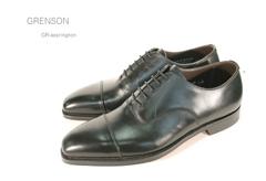 グレンソン/Grenson 靴 メンズ ノーザンプトンGR-ACCRINGTON 内羽根ストレートチップ イギリス/英国紳士靴