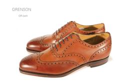 グレンソン/Grenson 靴 メンズ メダリオン ノーザンプトンGR-BATH 内羽根フルブローグ イギリス/英国紳士靴