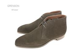 グレンソン/Grenson 靴 メンズ ダイナイトソール ノーザンプトンGR-BELPER ダイナイトソールスエードチャッカーブーツ イギリス/英国紳士靴 雨/スリップ防止/滑り止め