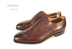 グレンソン/Grenson 靴 メンズ ノーザンプトンGR-LONDON 内羽根ストレートチップ イギリス/英国紳士靴