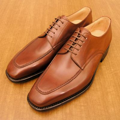 [Uモカ・Uチップ]ダイナイトソール仕様高級紳士靴(雨天/スリップ・転倒/滑り止め/ラバーソール)皇室御用達 大塚製靴/OTSUKA M-5(オーツカ M-5)M5-304 ダイナイトソール外羽根Uチップ ブラウン(茶)・ダークブラウン(濃茶)高級紳士靴(フォーマル/ビジネス)