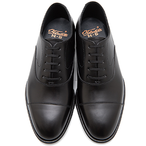 皇室御用達 大塚製靴/OTSUKA Otsuka Plus M5(オーツカプラスエムファイブ)M5-500W 内羽根ストレートチップ グッドイヤーウェルト式製法 ブラック・ダークブラウン紳士靴・革靴(メンズ/フォーマル/ビジネス/ドレスシューズ)