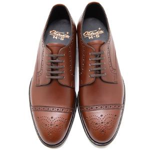 皇室御用達 大塚製靴/OTSUKA Otsuka Plus M5(オーツカプラスエムファイブ)M5-501 外羽根セミブローグ グッドイヤーウェルト式製法 ブラック・ダークブラウン紳士靴・革靴(メンズ/フォーマル/ビジネス/ドレスシューズ)
