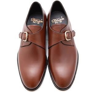 皇室御用達 大塚製靴/OTSUKA Otsuka Plus M5(オーツカプラスエムファイブ)M5-503 シングルモンクストラップ グッドイヤーウェルト式製法 ブラック・ダークブラウン紳士靴・革靴(メンズ/フォーマル/ビジネス/ドレスシューズ)