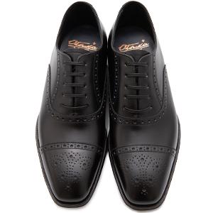 皇室御用達 大塚製靴/OTSUKA Otsuka Plus M5(オーツカプラスエムファイブ)M5-602 内羽根セミブローグ グッドイヤーウェルト式製法 ブラック・ダークブラウン紳士靴・革靴(メンズ/フォーマル/ビジネス/ドレスシューズ)