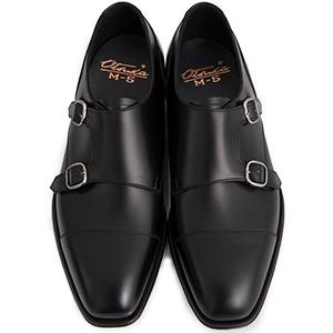 皇室御用達 大塚製靴/OTSUKA Otsuka Plus M5(オーツカプラスエムファイブ)M5-603 ダブルモンクストラップ グッドイヤーウェルト式製法 ブラック・ダークブラウン紳士靴・革靴(メンズ/フォーマル/ビジネス/ドレスシューズ)