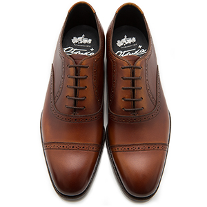 皇室御用達 大塚製靴/OTSUKA Otsuka+(オーツカ プラス)OP-1002 内羽根クォーターブローグ グッドイヤーウェルト式製法 ブラック・ダークブラウン紳士靴・革靴(メンズ/フォーマル/ビジネス/ドレスシューズ)