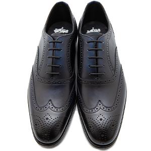 皇室御用達 大塚製靴/OTSUKA Otsuka+(オーツカ プラス)OP-1003NA 内羽根フルブローグ グッドイヤーウェルト式製法 ブラック・ダークブラウン紳士靴・革靴(メンズ/フォーマル/ビジネス/ドレスシューズ)