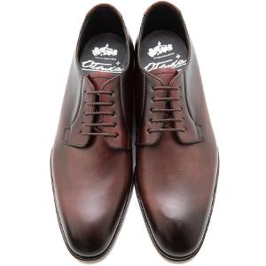 皇室御用達 大塚製靴/OTSUKA Otsuka+(オーツカ プラス)OP-1004 外羽根プレーントウ グッドイヤーウェルト式製法 ブラック・ダークブラウン紳士靴・革靴(メンズ/フォーマル/ビジネス/ドレスシューズ)