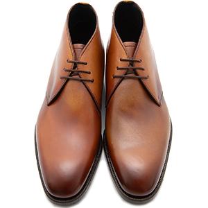 皇室御用達 大塚製靴/OTSUKA Otsuka+(オーツカ プラス)OP-1006 チャッカーブーツ グッドイヤーウェルト式製法 ブラック・ダークブラウン紳士靴・革靴(メンズ/フォーマル/ビジネス/ドレスシューズ)