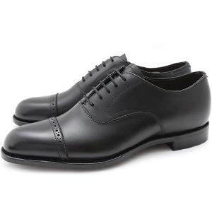 皇室御用達 大塚製靴/OTSUKA Yokohama made(オーツカ ヨコハマ)OG-1001 内羽根ストレートチップ(パンチドキャップトウ・クォーターブローグ)グッドイヤーウェルト式製法(ハンドソーン式製法・九部仕立て)