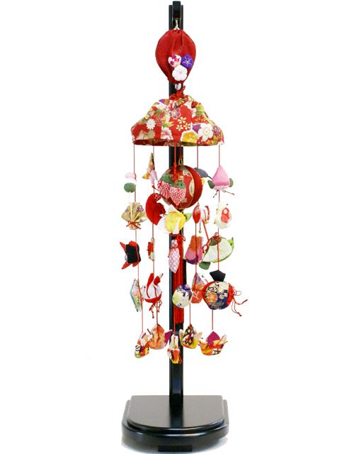 【雛人形吊るし雛 送料無料】久月作 「オルゴール吊るし雛」 飾り《FHS-125》
