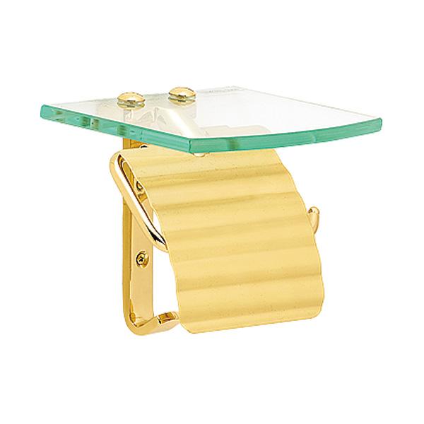 【在庫あり】【ゴーリキアイランド】トイレットペーパーホルダー TPH ガラスシェルフ S 640712