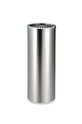 【送料無料 一部地域除く】テラモト ステン丸型灰皿 ステンレス製灰皿 灰皿スタンド 喫煙具 大型灰皿 GPX-51A SS-955-020-0 スモーキングスタンド