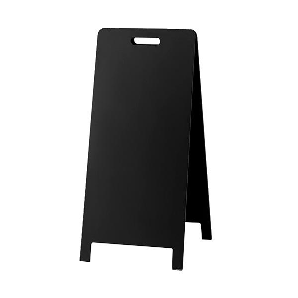 店舗向けディスプレー 掲示板 【光】ハンド式スタンド黒板 大 HTBD-104