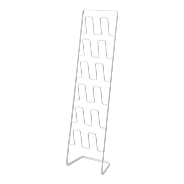 Frame スリッパ 収納 送料0円 スリッパラック スリッパ立て 白 在庫あり フレーム スリム ホワイト 6足用 価格 4702 山崎実業