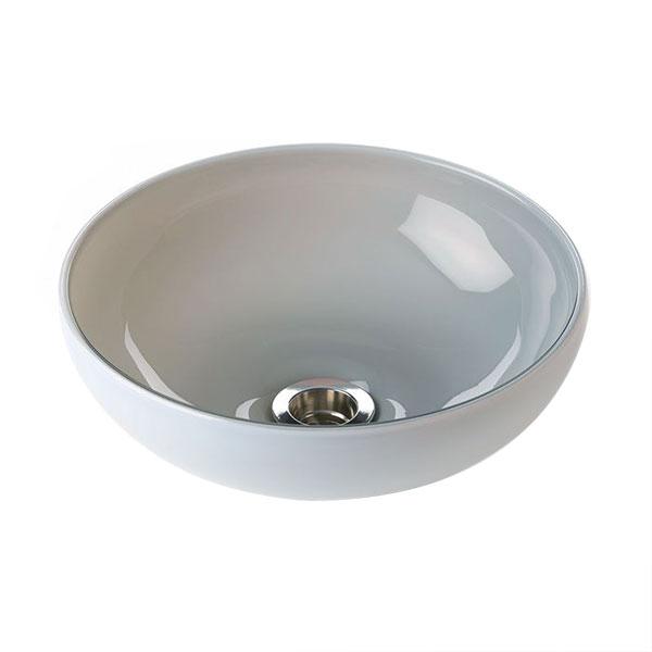 リラインス[RELIANCE] 置き型手洗器 外側ホワイト・内側グレー[CB1-OW] cb1ow
