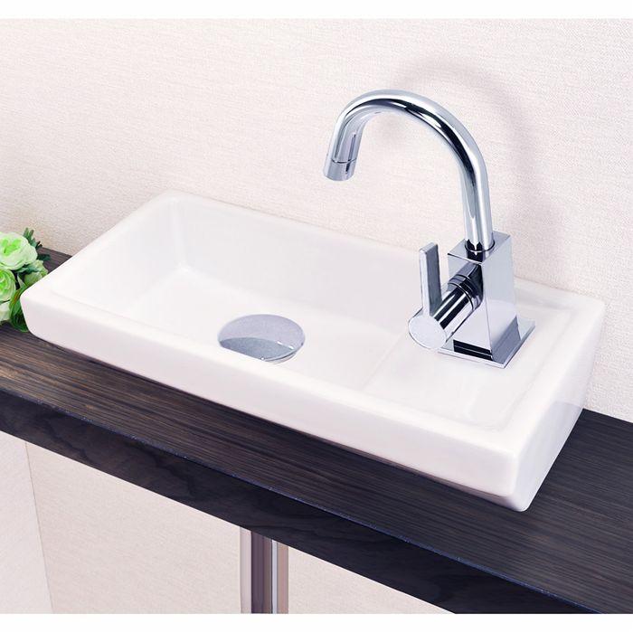 リラインス[RELIANCE] 狭小スペース手洗器(Sトラップ付) 手洗器[RW104S]