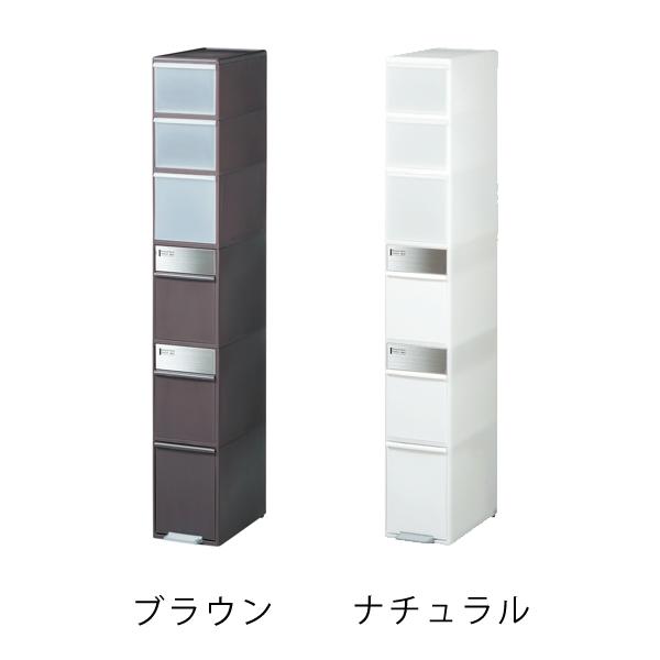 【like it】【ゴミ箱】分別スイングストッカー ワイド MSP-12BS120 ブラウン