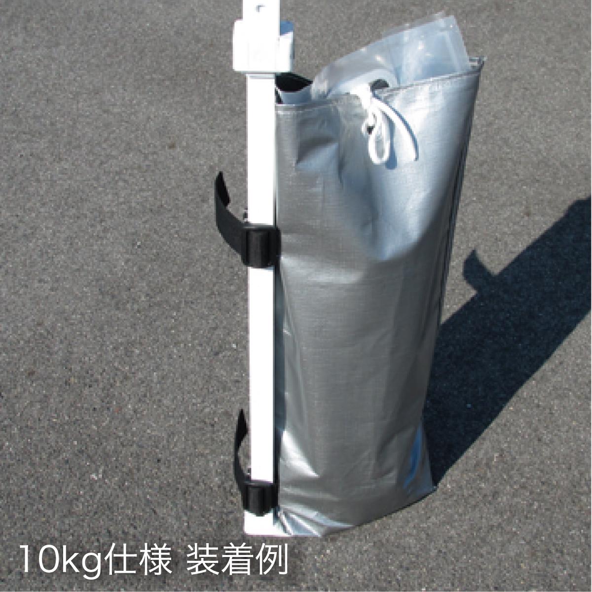 カンタンウェイト10kg 6個セット WB10-6W2 [※代引不可]