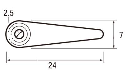 ステンレストンボ (リング付)SUS304 D-6301-A 8分 (入数:5000) [※代引不可]