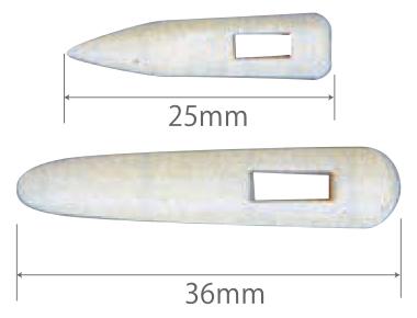 樹脂舟ピン 6341-A W25mm (入数:2000) [※代引不可]