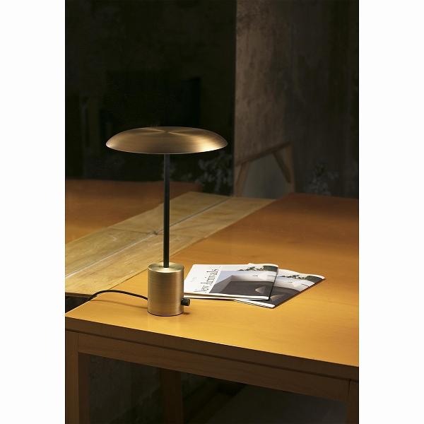 【FARO】HOSHI LED Satin gold and black table lamp FARO FA28387【代引き不可】