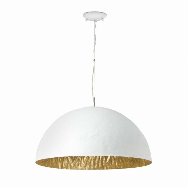 【FARO】MAGMA-P white and gold pendant lamp 3L FARO FA28399【代引き不可】