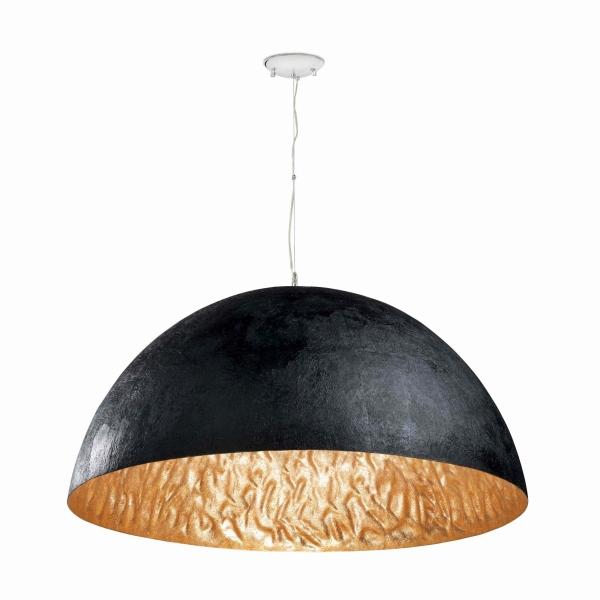 【FARO】MAGMA-P Black and gold pendant lamp FARO FA29468【代引き不可】