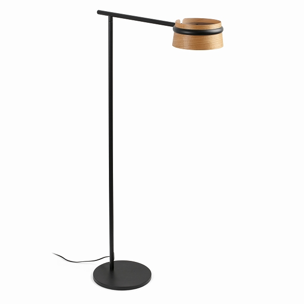 【FARO】LOOP LED Black floor lamp FARO FA29569【代引き不可】