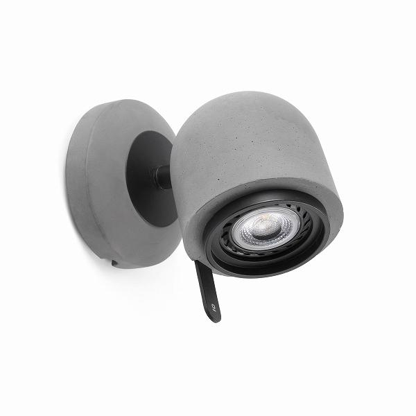 【FARO】STONE-1 Stone grey wall lamp FARO FA43500【代引き不可】