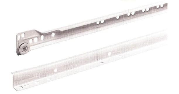 ハーフェレ HAFELE 欧州スタイル ドイツ製の最先端の技術 高品質製品 スライドレール 未使用 引き出しレール 421-82-735 レール長さ350 クリアランスsale 期間限定 421.82.735 持出し長さ265 2段引 ローラータイプ 〔おうちまわり.com〕 SG30