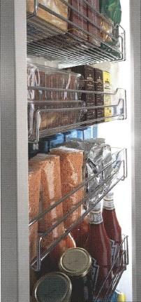 ハーフェレ HAFELE キッチン関連金物 トールユニットシステム DISPENSA 奥行500mm用 耐荷重100kgタイプ [546.88.231]