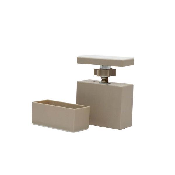 市販 突っ張り DIY 2×4 LABRICO 即納 2×4アジャスター お値打ち価格で ラブリコ ナチュラルグレージュ DXN-1 平安伸銅