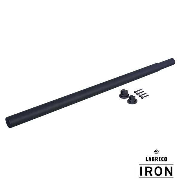 ラッピング無料 平安伸銅 DIY アイアン IRON ラブリコ LABRICO M 人気の定番 ブラック 即納 伸縮アイアンロッド IXK-8 70~110cm