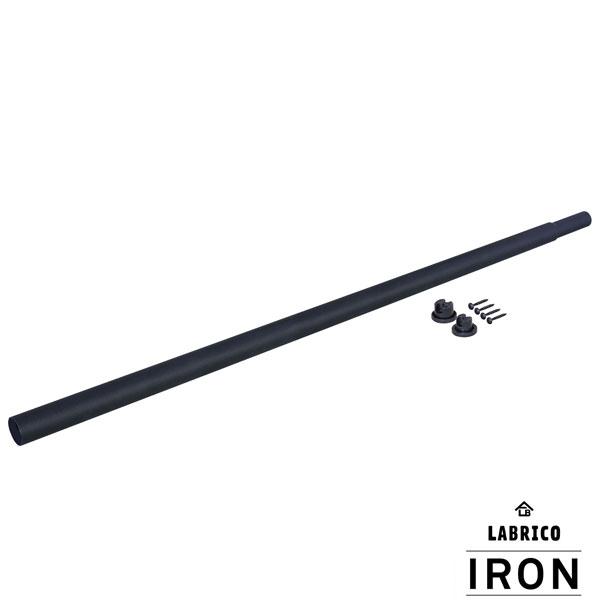 平安伸銅 DIY アイアン IRON ラブリコ ブランド買うならブランドオフ LABRICO L IXK-9 伸縮アイアンロッド 入手困難 110~190cm ブラック 即納