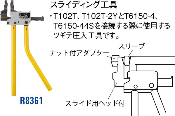 スライディング工具 R8361