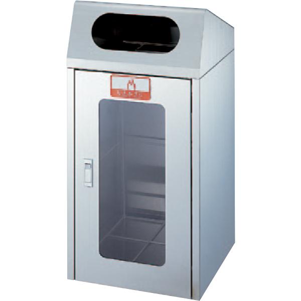 【送料無料 一部地域除く】リサイクルボックス CS-1ST(1面窓付き) YW-160L-SA W420×D420×H860mm[CONDOR(コンドル)] [※代引不可]