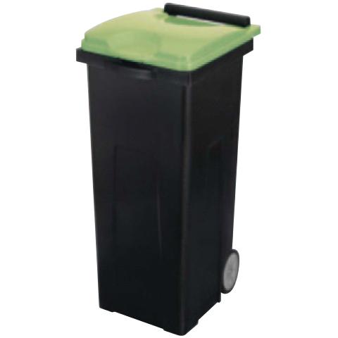 【送料無料 一部地域除く】リサイクルカート#90エコ YW-451L-PC-B/G ブラック/グリーン W435×D522×H798mm[CONDOR(コンドル)] [※代引不可]