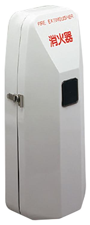 【店内商品ポイント5倍!9月25日(金)限定】消火器ボックス 壁付型 SK-FEB-92 W264×D167×H620mm グレー