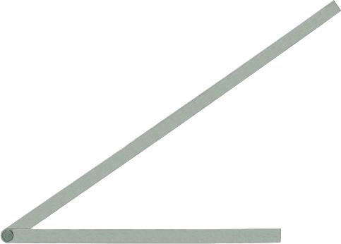 シンワ測定 測定用品 自由金 店内商品ポイント5倍 店 ハイクオリティ 3月10日限定 171g 45cm 目盛なし H450×W15×D2mm